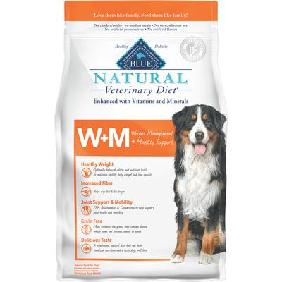 BLUE Natural Veterinary Diet® Canine W+M Weight Management & Mobility Support