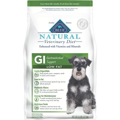 BLUE Natural Veterinary Diet® Canine GI Low Fat Gastrointestinal Support