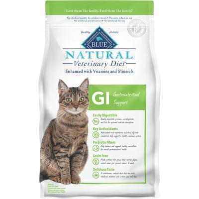 BLUE Natural Veterinary Diet® Feline GI Gastrointestinal Support