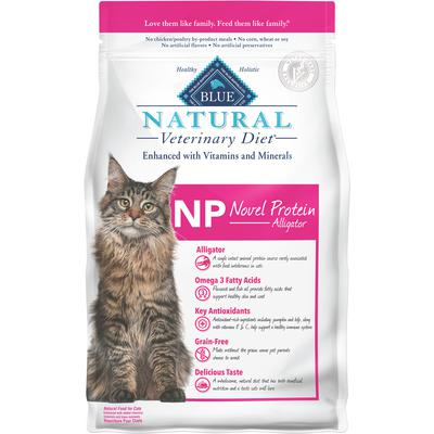 BLUE Natural Veterinary Diet® Feline NP Novel Protein Alligator