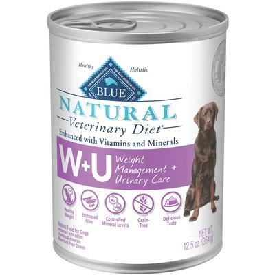 BLUE Natural Veterinary Diet® Canine W+U Weight Management & Urinary Support
