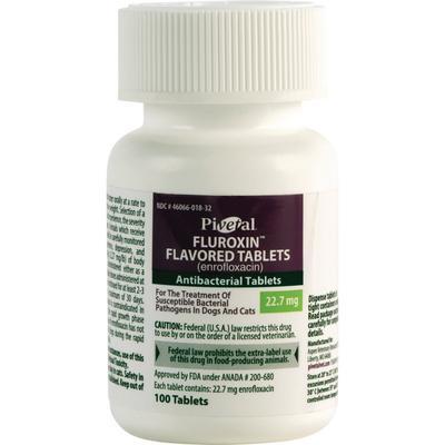 Pivetal Fluroxin (Enrofloxacin) Chewable Tablets