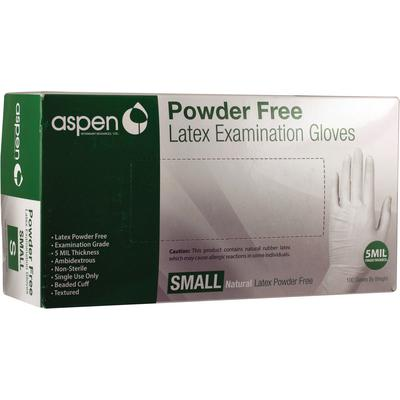 Aspen Latex PF Exam Gloves