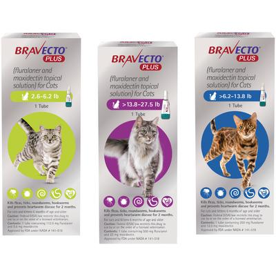 Bravecto™ Plus Topical Solution for Cats