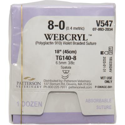 Patterson Veterinary WebCryl™ Sutures