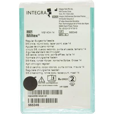 Miltex Regular Surgeon's Needles 3/8 Circle, Taper Point