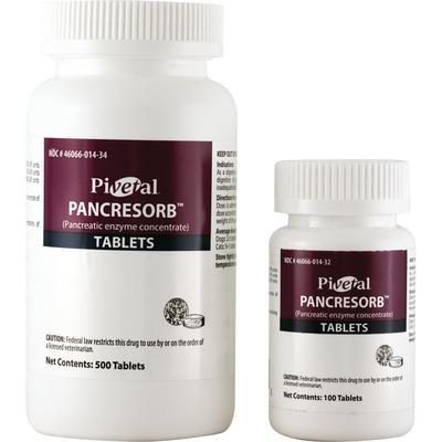 Pivetal Pancresorb (pancreatic enzyme concentrate) Tablets