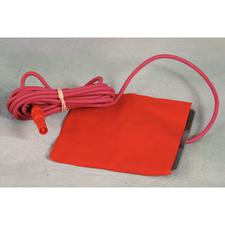 Ground Plate with 8' Red Cord and Plastic Plug